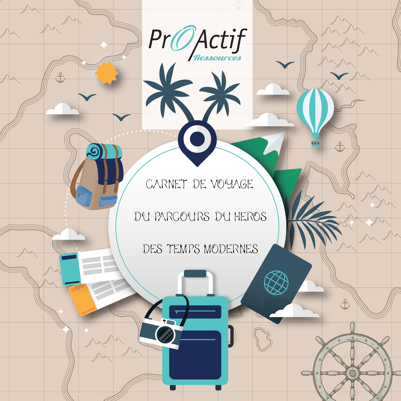 Couverture d'un carnet de voyage : un support de communication créé par Comm' Julie (Gironde)