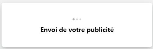 Message : envoi de votre publicité Facebook